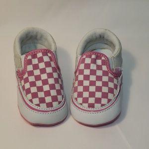 Baby Vans (infant 3) Pink slip-ons
